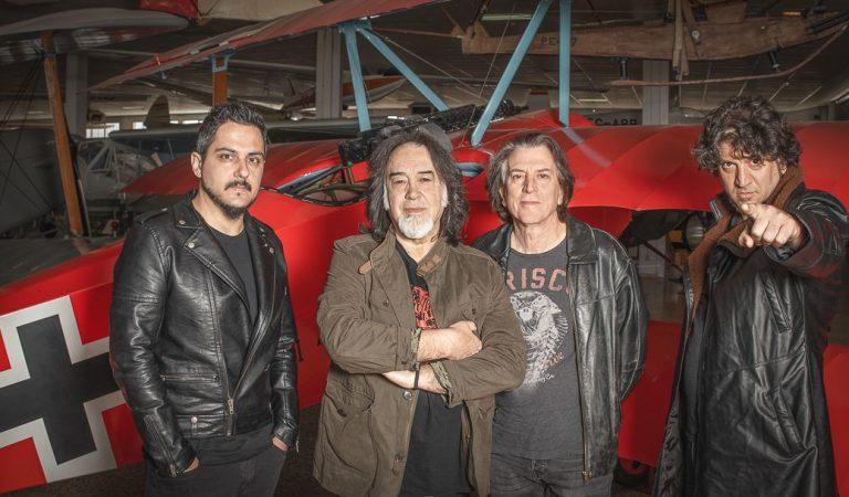 Barón Rojo reagenda su último concierto en Chile 5 de marzo del 2021