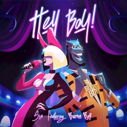 SIA se une a Burna Boy en nueva versión de «Hey Boy»