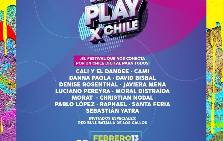 Desafio Play x Chile anuncia festival digital